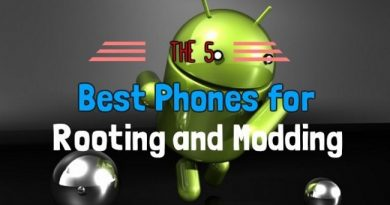 5 Android Phones for Rooting and Modding