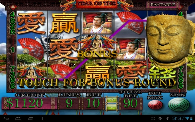 5 Dragons Pokies Android App