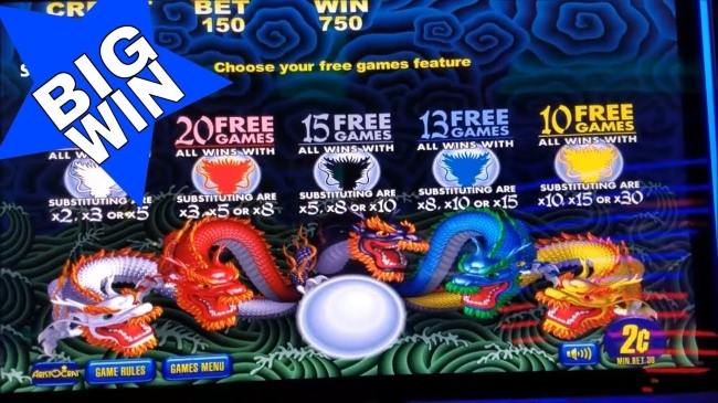 5 Dragons Pokies - The Wild Bonus and Free Spins