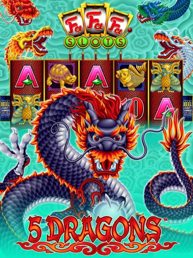 5 dragons slot machine