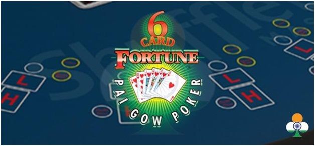 6 card fortune pai gow