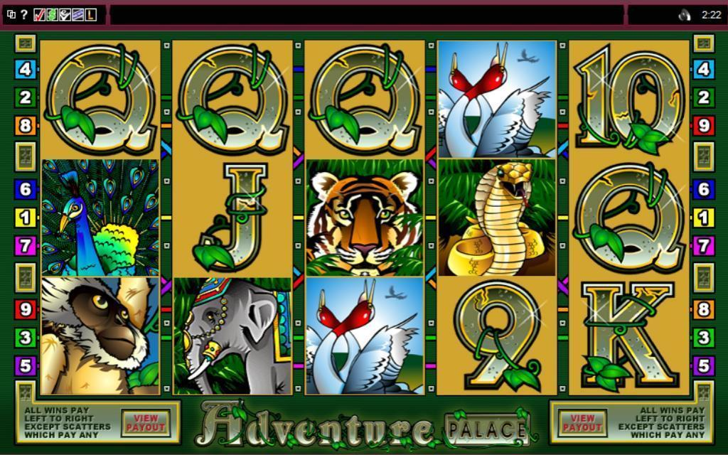 Adventure Palace Pokies Game