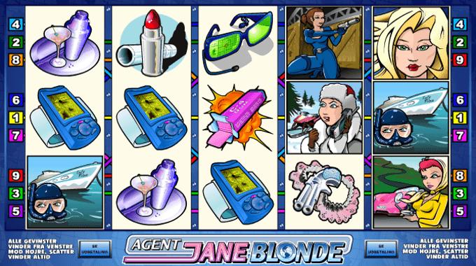 Agent Jane Blonde Symbols