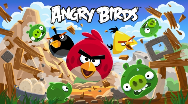 Angry-birds - Most popular mobile game