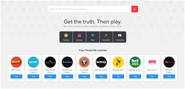 Askgambler site