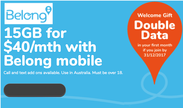 Belong Mobile Data