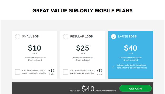 Belong Mobile Plans