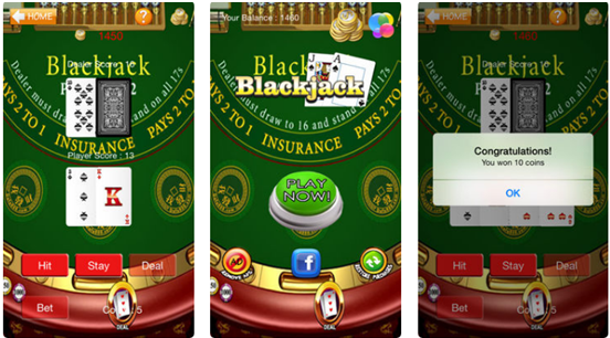 Blackjack 21 HD Casino