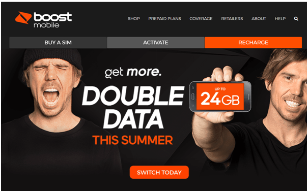 Boost Mobile summer plans