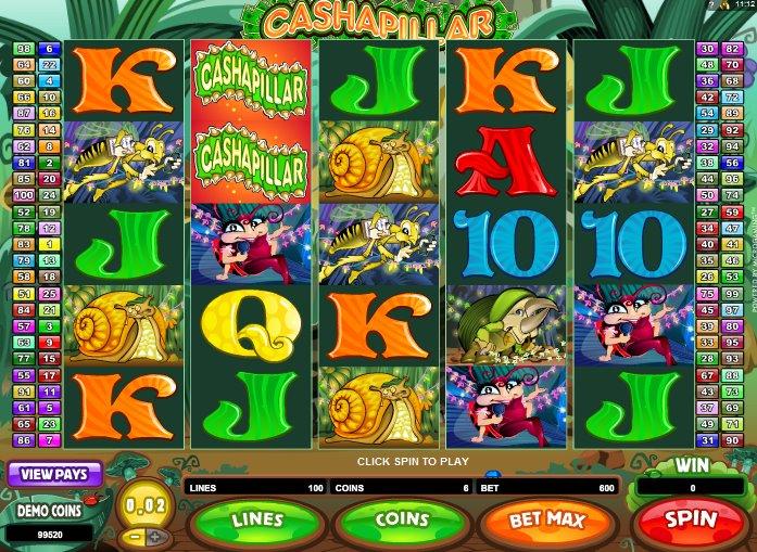 Cashapillar Pokies Game