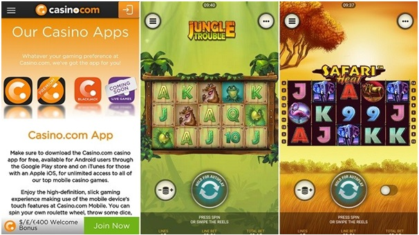 Casino.com Games for pokies for android