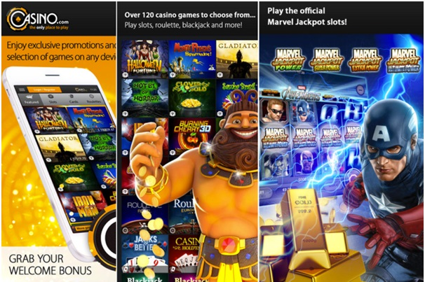 Casino.com- pokies for android app