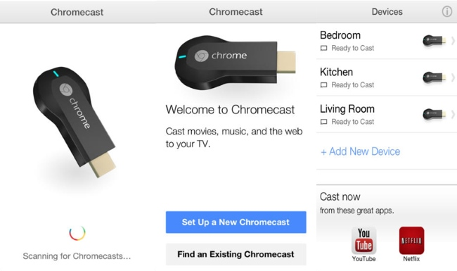 Chromecast Android Hot App