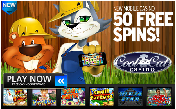 Cool Cat Casino- How to get started with Android mobile