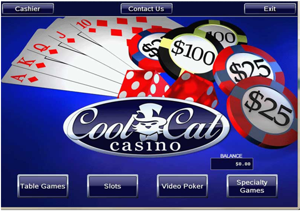 Cool Cat Casino- Pokies for Android- Making a deposit