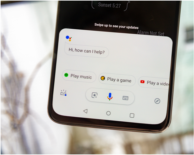 Corner Swipe for Google Assistant