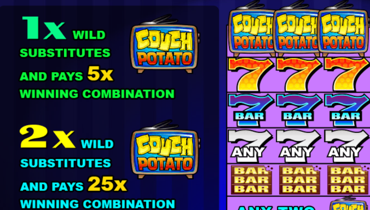 Couch Potato game features