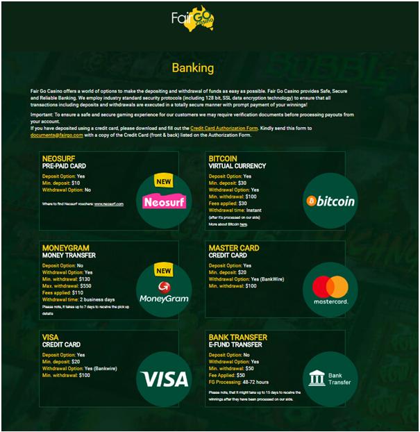 Fair Go Banking