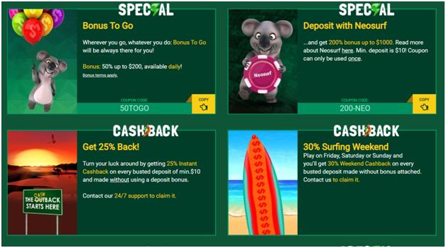 Fair go casino cashback bonus