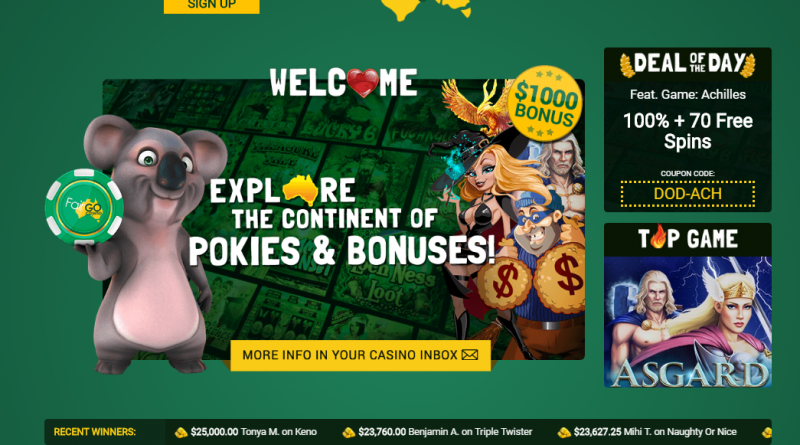 Fair Go New Casino for Aussie Punters