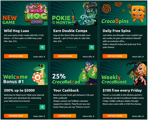 Five Android Cashback casinos in Australia- Play Croco