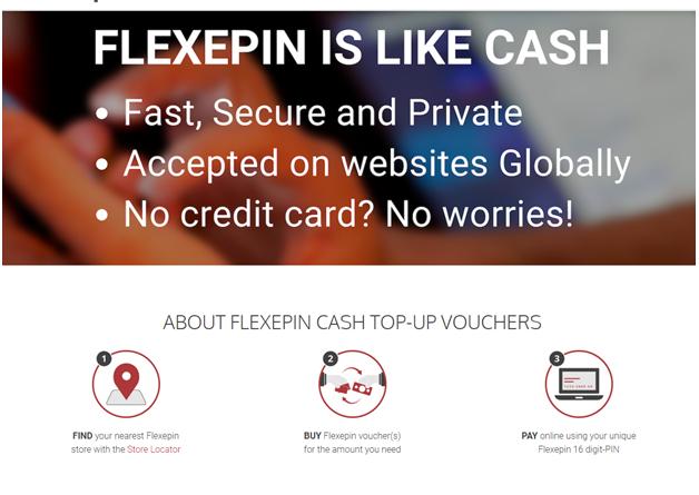 Flexepin Android casinos