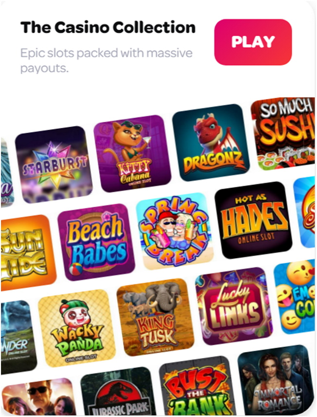 Games Offered at this Android Casino