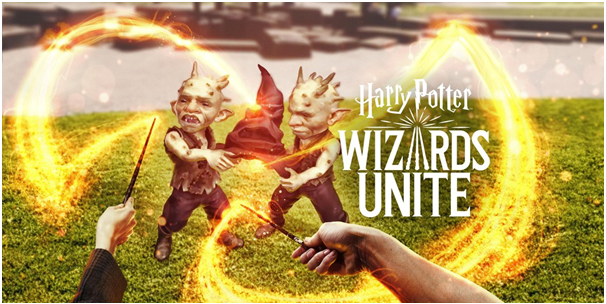 Harry Potter Wizards Unite game app