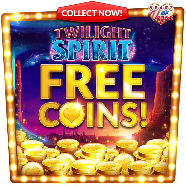 Heart of Vegas Casino Free coins to play pokies
