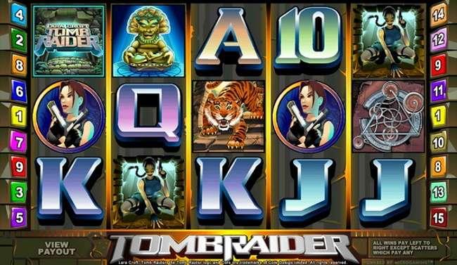 How to win Tomb Raider online pokies