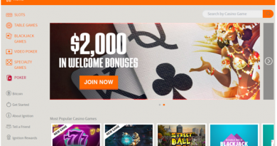 Ignition Casino Play pokies with real BTC