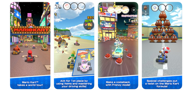 Features of Mario Kart Tour
