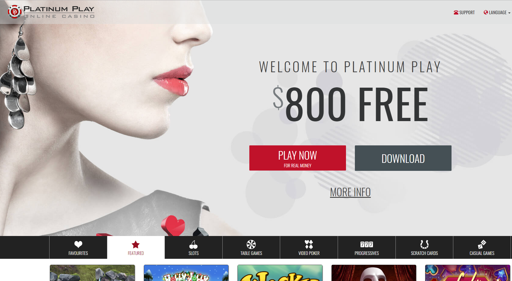 Play Platinum Play casino