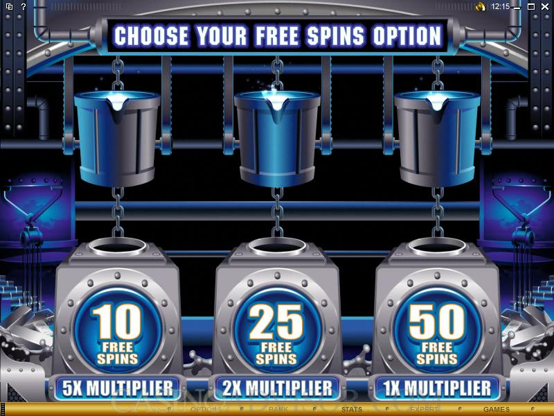 Pure Platinum Free Spin Feature