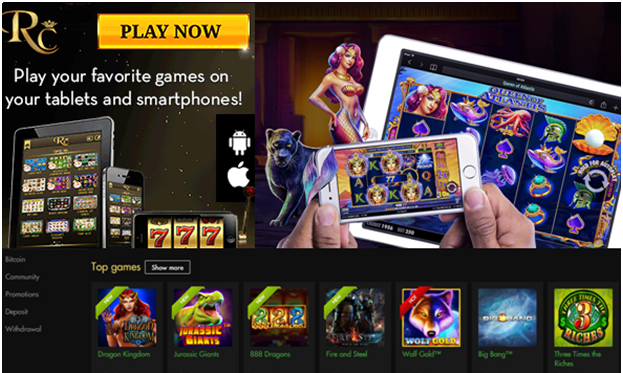 Rich casino for Android play