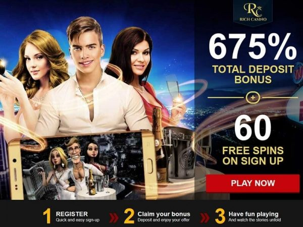 Rich casino - Online site for Aussies to play pokies