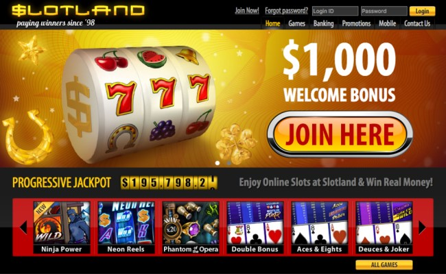 Slotland Casino App