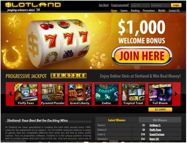 Slotland Pokies