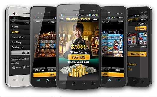 slotland casino banking
