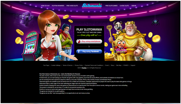 Slotomania free games app