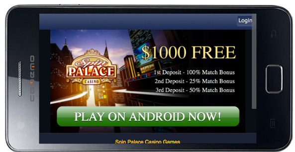 Spin Palace Android