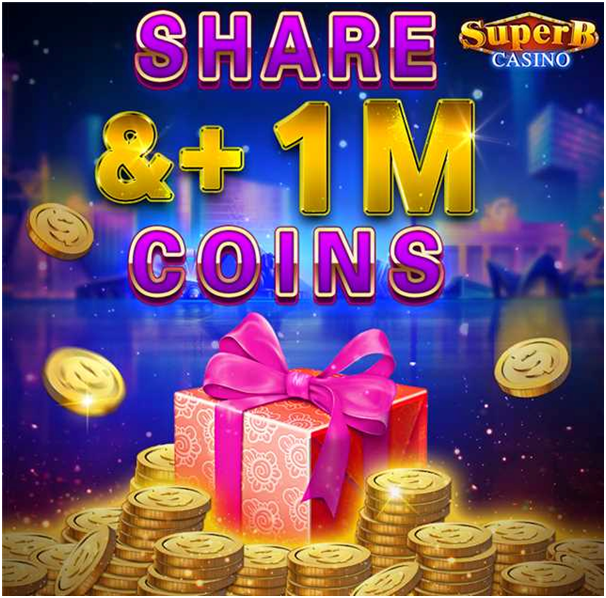Superb Casino How to get free coins
