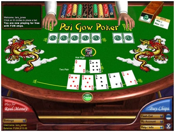 The game of Pai Gow