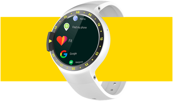 Ticwatch S Android wear features