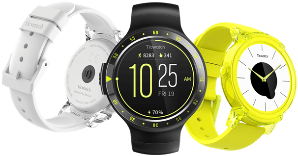 TicWatch S Android sports watch