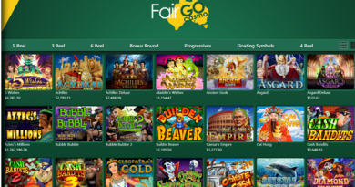 What are Single Jackpot Pokies for Android at Fair Go Online Casino