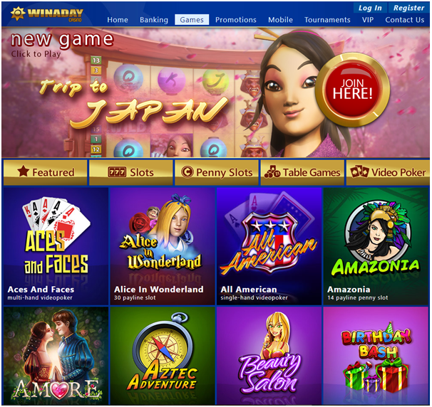 Win a day casino games to play with Android mobile