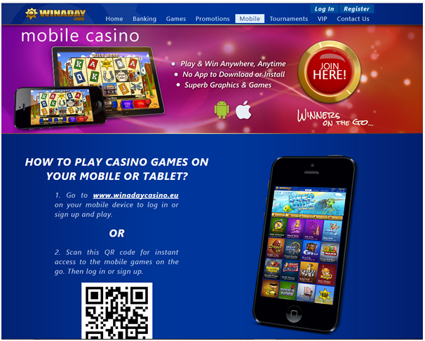 Win A Day Casino- Mobile casino
