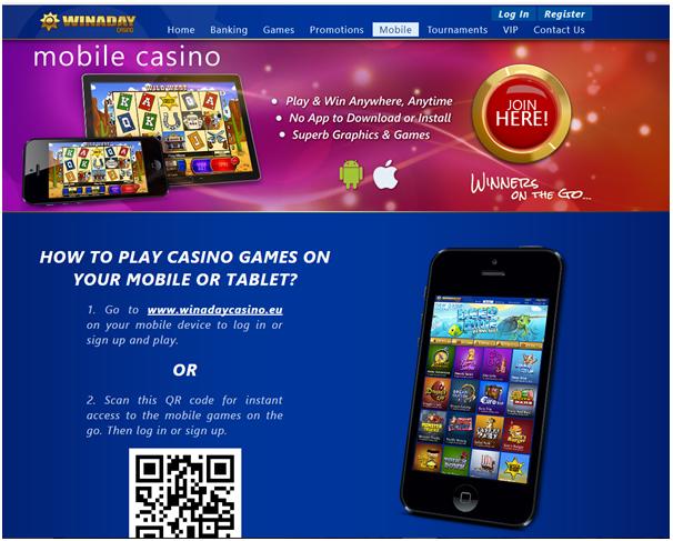 Win A Day Casino- Mobile casino