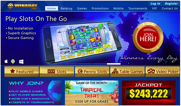 Win A Day Casino for Android